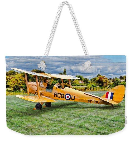 De Havilland Dh82 Tiger Moth Weekender Tote Bag