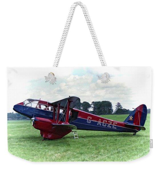 De Havilland Dragon Rapide Weekender Tote Bag
