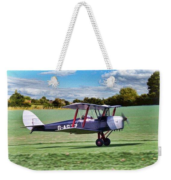 De Havilland Tiger Moth 2 Weekender Tote Bag