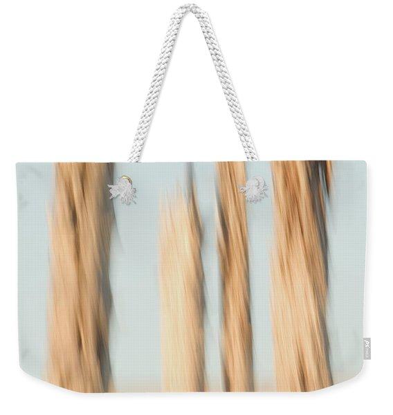 Dead Conifer Trees In Sand Dunes Weekender Tote Bag