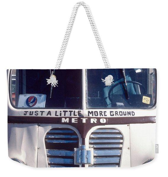 Dead Tour Bus Weekender Tote Bag