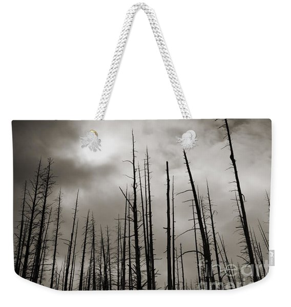 Dead Trees Weekender Tote Bag