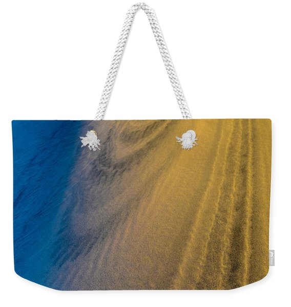 Death Valley Sunset Dune Wind Spiral Weekender Tote Bag
