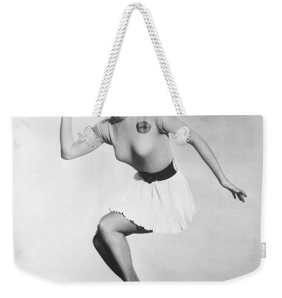 Debbie Reynolds Throws A Pass Weekender Tote Bag