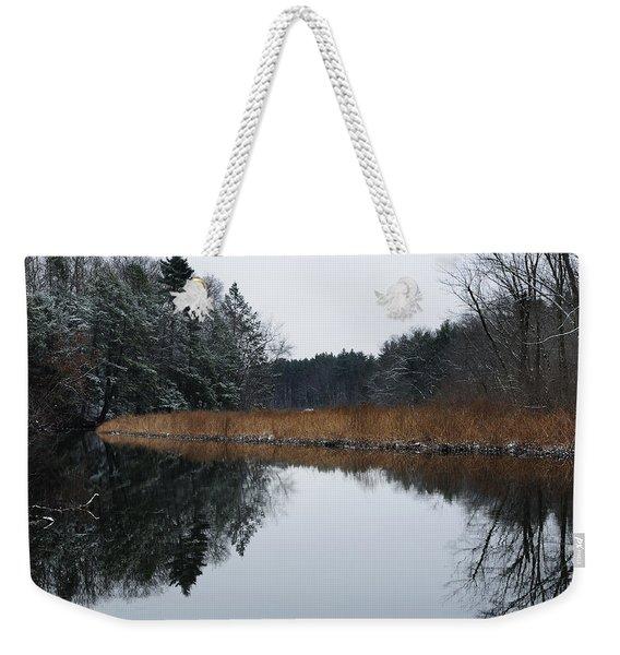 December Landscape Weekender Tote Bag