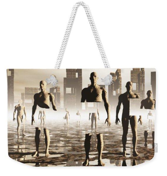 Deconstruction Weekender Tote Bag