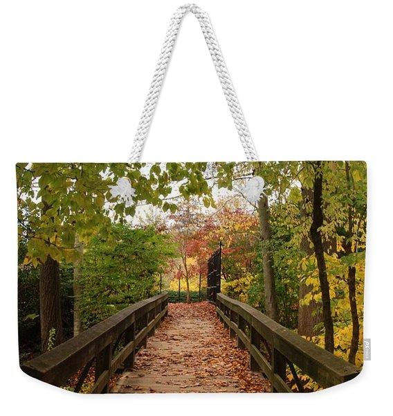 Decorate With Leaves - Holmdel Park Weekender Tote Bag