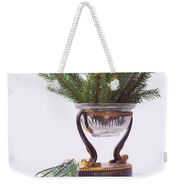 Decorating For Christmas Weekender Tote Bag