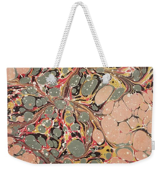 Decorative End Paper  Weekender Tote Bag