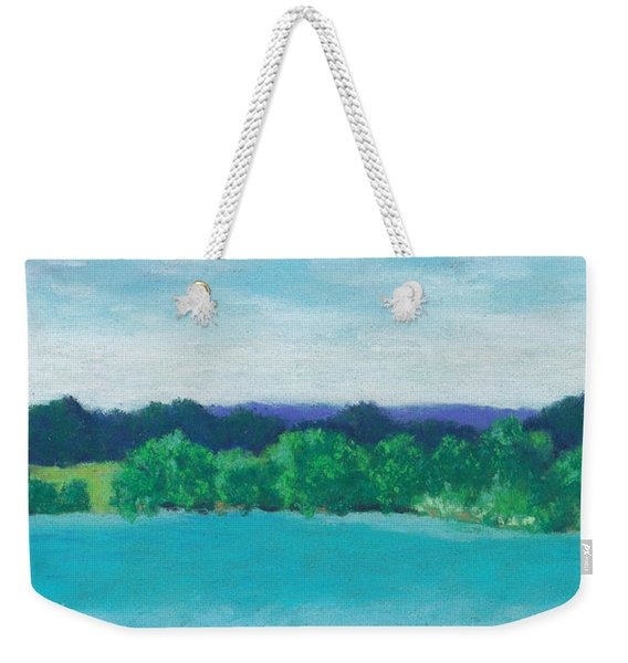 Deep Breath Weekender Tote Bag