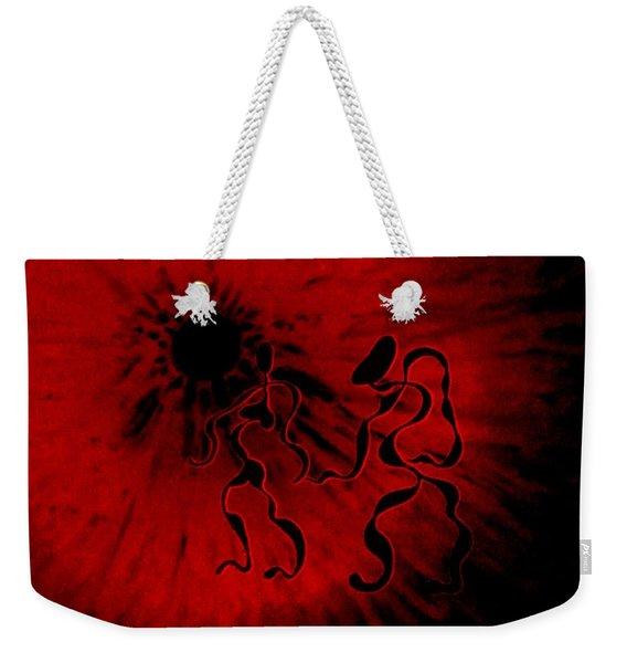 Deep Burning Passion Weekender Tote Bag