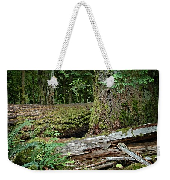 Deep In The Forest Weekender Tote Bag