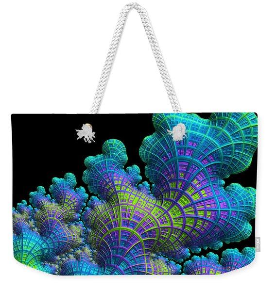 Deep Sea Coral Weekender Tote Bag