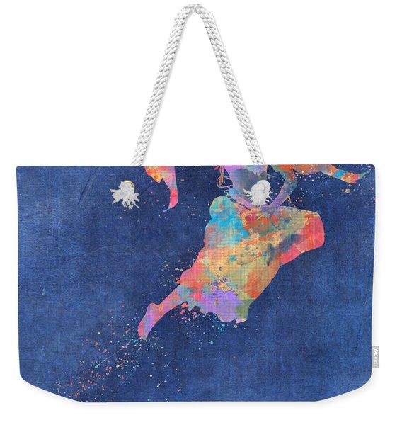 Defy Gravity Dancers Leap Weekender Tote Bag