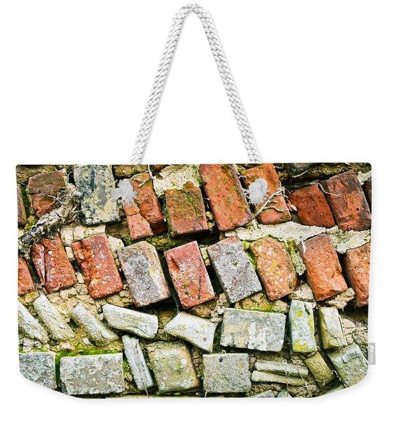Delapidated Wall Weekender Tote Bag