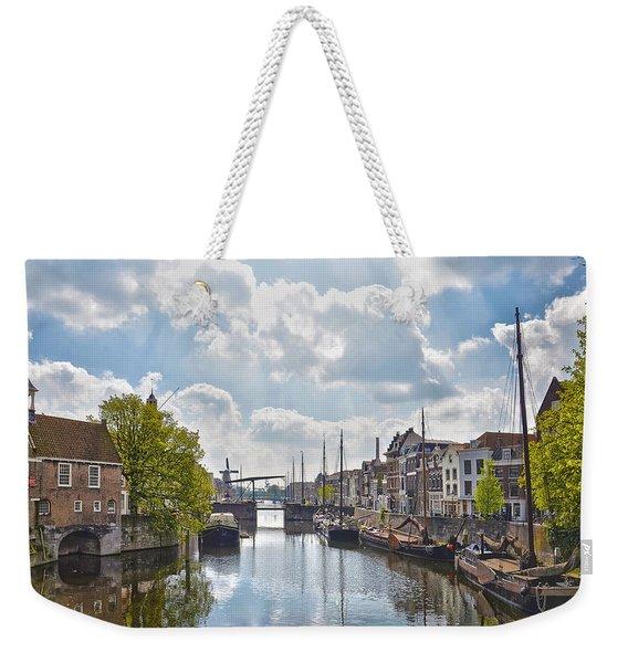Delfshaven Rotterdam Weekender Tote Bag