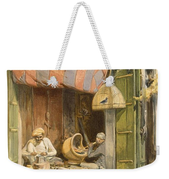 Delhi - Jeweller, From India Ancient Weekender Tote Bag