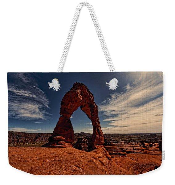 Delicate Arch Afternoon Glow Weekender Tote Bag