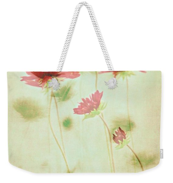 Weekender Tote Bag featuring the photograph Delicate Dance by Patricia Strand
