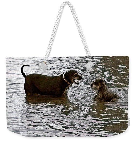 Delta Dogs Weekender Tote Bag