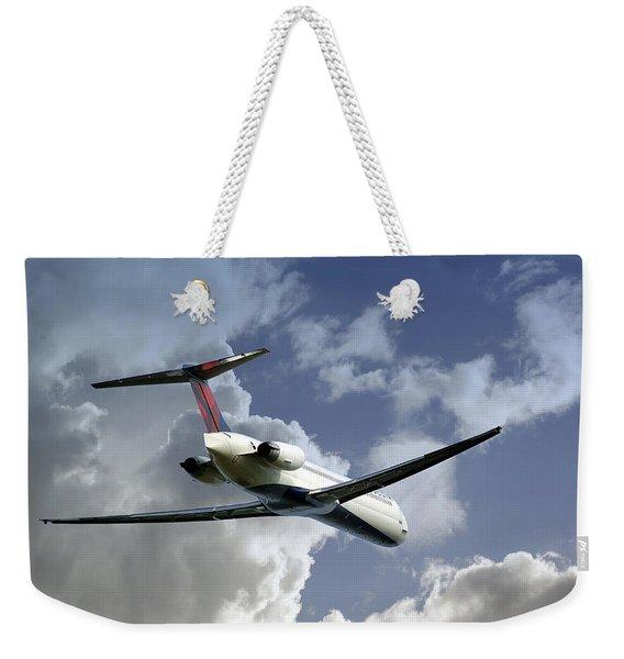Delta Jet Weekender Tote Bag