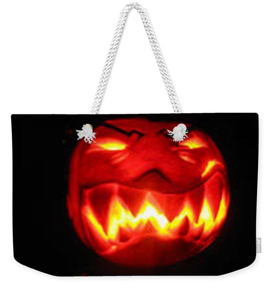 Demented Mister Ullman Pumpkin Weekender Tote Bag