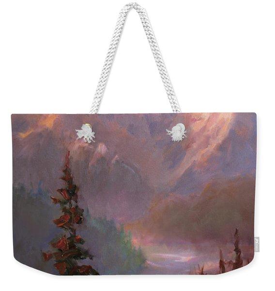 Denali Summer - Alaskan Mountains In Summer Weekender Tote Bag
