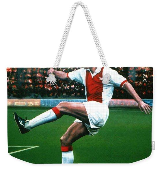 Dennis Bergkamp Ajax Weekender Tote Bag
