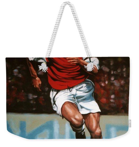Dennis Bergkamp Weekender Tote Bag