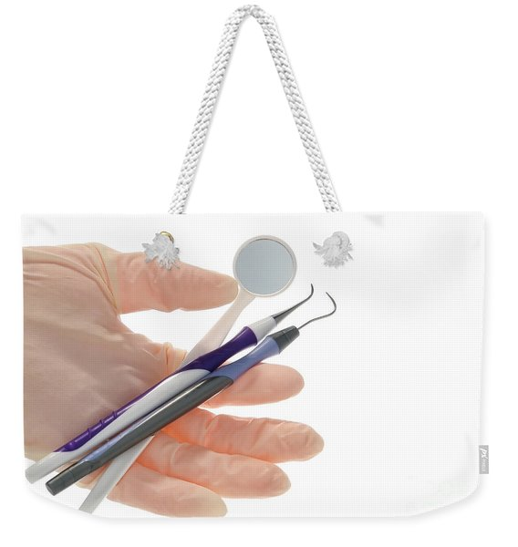 Dental Hygienist Tools  Weekender Tote Bag