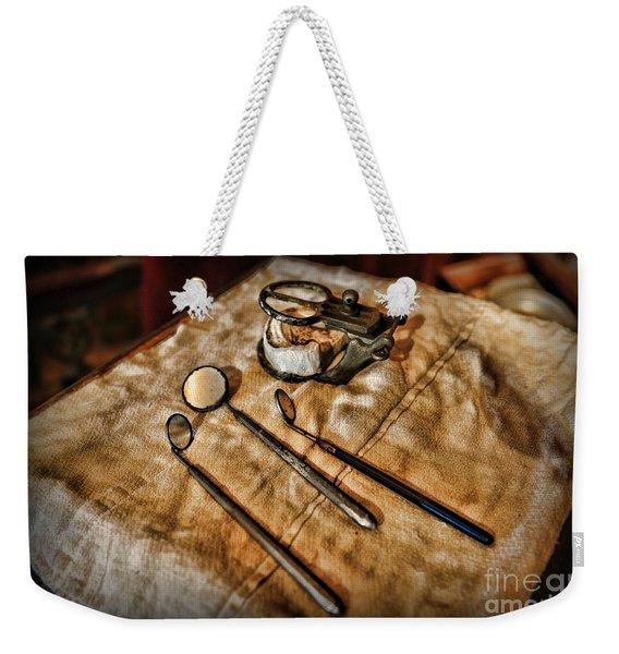 Dentist - The Mouth Mirror Weekender Tote Bag