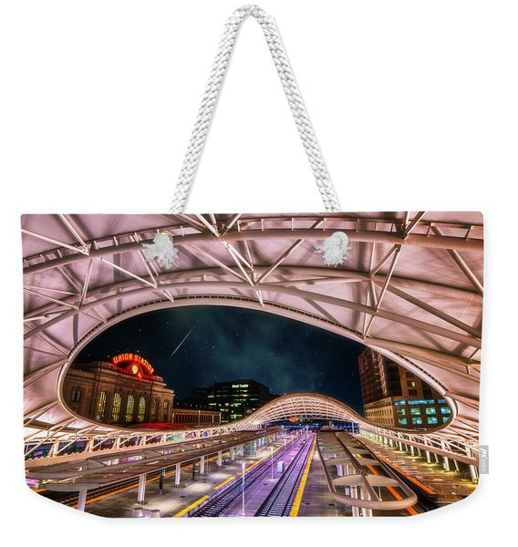 Denver Air Traveler Weekender Tote Bag
