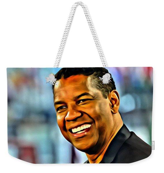 Denzel Washington Weekender Tote Bag