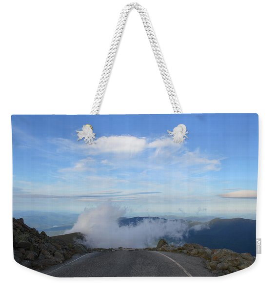 Descending Into The Clouds Weekender Tote Bag