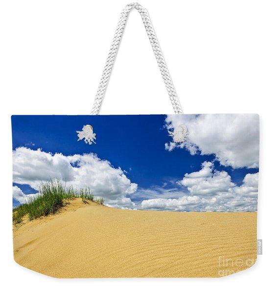 Desert Landscape In Manitoba Weekender Tote Bag