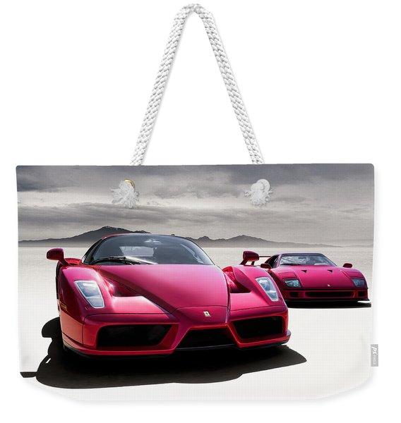 Desert Showdown Weekender Tote Bag
