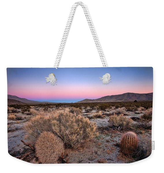 Desert Twilight Weekender Tote Bag