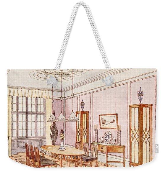 Design For A Dining Room Weekender Tote Bag