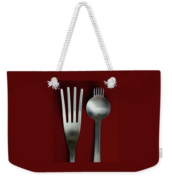 Designer Cutlery Weekender Tote Bag