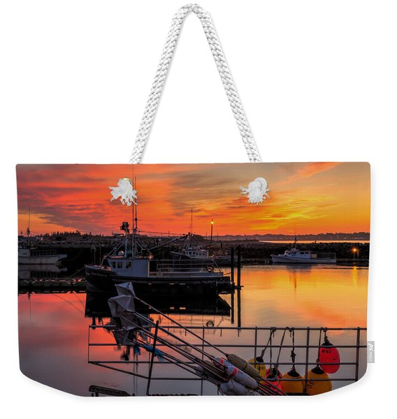 Weekender Tote Bag featuring the photograph Desired Haven  by Garvin Hunter