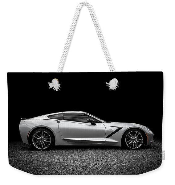 2014 Corvette Stingray Weekender Tote Bag