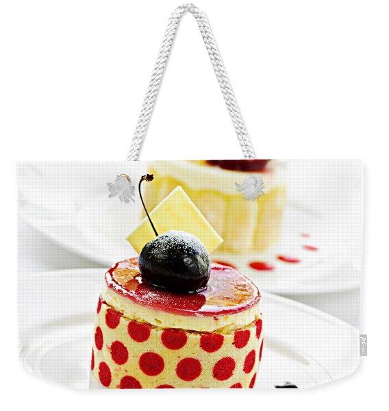 Desserts Weekender Tote Bag