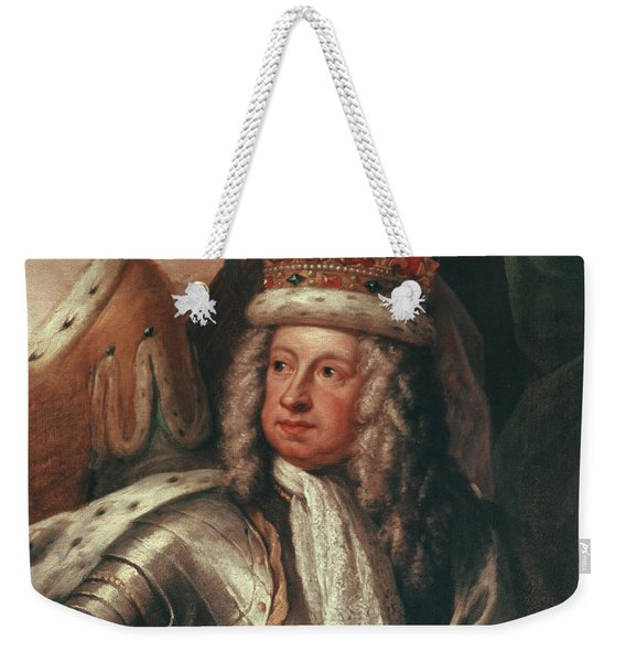 Detail Of George I From The Painted Hall, Greenwich Weekender Tote Bag