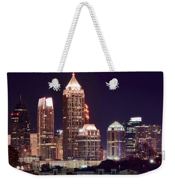 Atlanta Towers Weekender Tote Bag