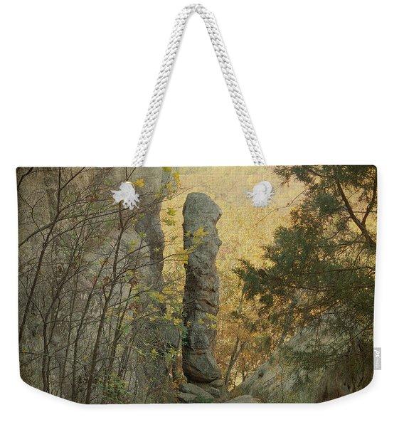 Devil's Smokestack Weekender Tote Bag