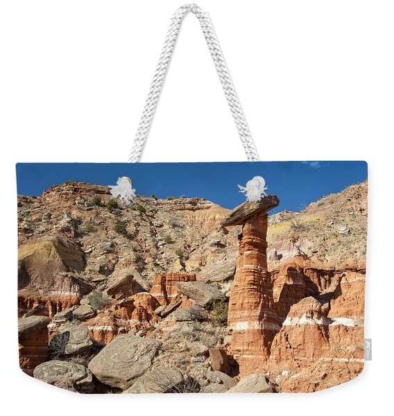 Devil's Tombstone In Palo Duro Canyon Weekender Tote Bag