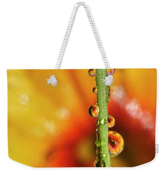 Dew Droplet Fractals Weekender Tote Bag