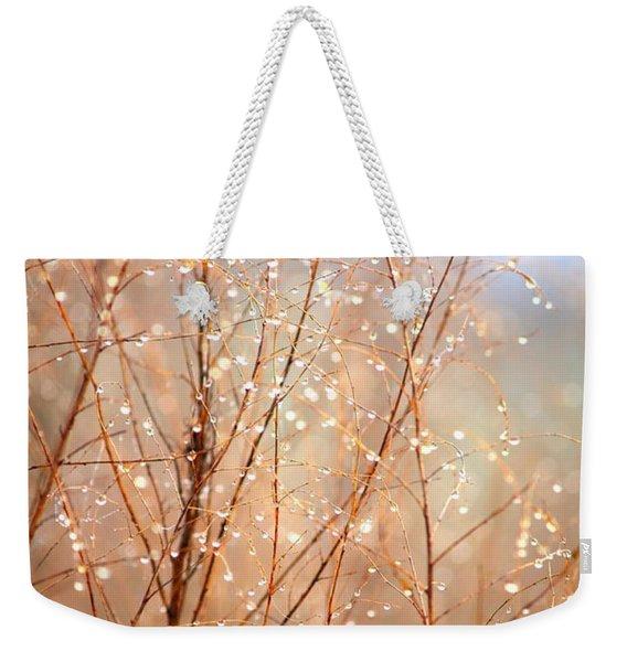 Dewdrop Morning Weekender Tote Bag