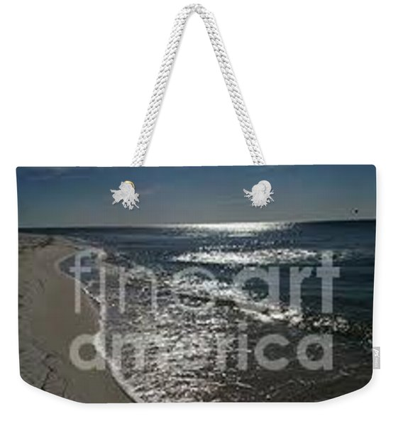Weekender Tote Bag featuring the photograph Diamond Mine by Laurie Lundquist