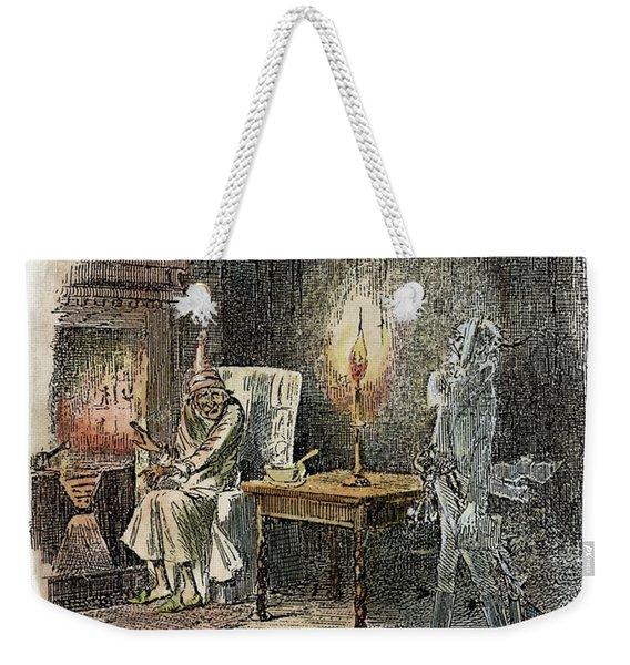 Dickens Christmas Carol, 1843 Weekender Tote Bag